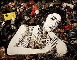 Vik Muniz - Pictures of Junk Series: Melancholy