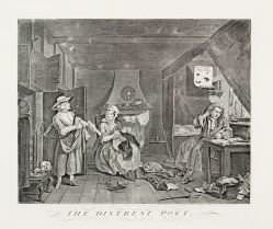 William Hogarth - The Distrest Poet